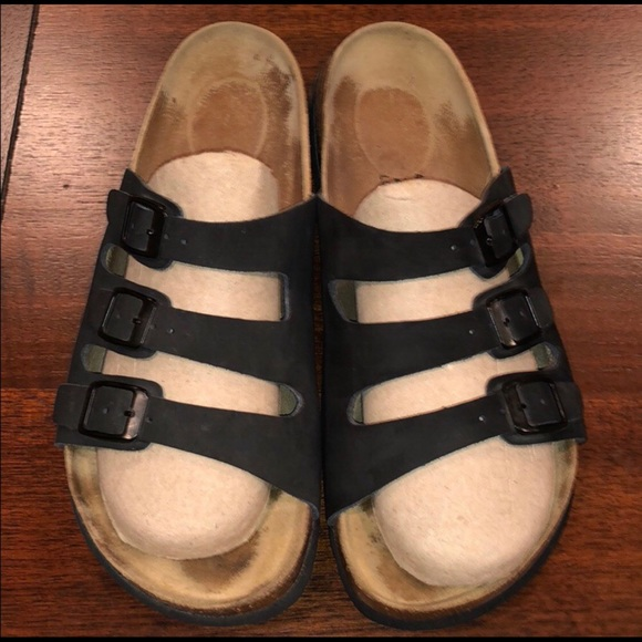 Betula Birkenstock Leather Woogie Fussbett Sandal